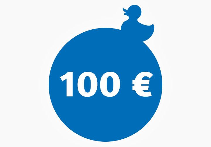Wertgutschein 100,00 €